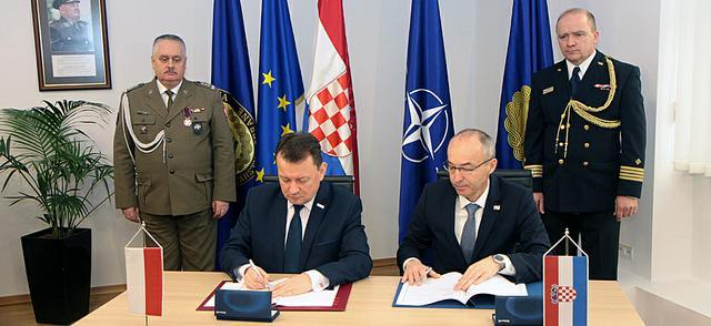 zdjęcie - Poland and Croatia strengthen military cooperation