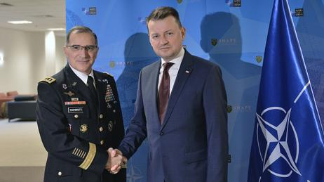Minister of National Defense in Brussels